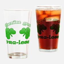 Erin Go Bra-less Drinking Glass