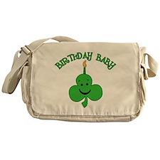Birthday Baby St Pat's Day Messenger Bag