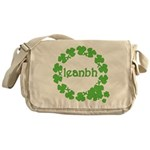 Leanbh Irish Word for Baby Messenger Bag