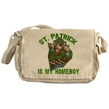St Patrick is My Homeboy Messenger Bag