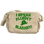 I Speak Fluent Blarney Messenger Bag