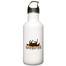 How I Roll Horse Water Bottle