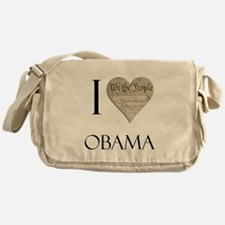 I Heart Obama Messenger Bag