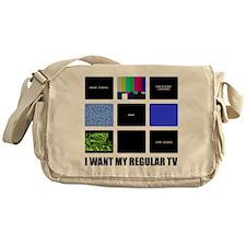 DTV Transition Messenger Bag