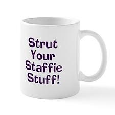 Strut Your Staffie Stuff Mug