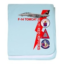 VF-11 Red Rippers baby blanket