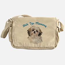 Shih Tzu Mommy Messenger Bag