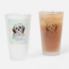 Shih Tzu Drinking Glass