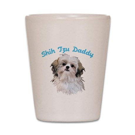 Shih Tzu Daddy Shot Glass