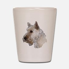 Scottish Terrier (Wheaten) Shot Glass