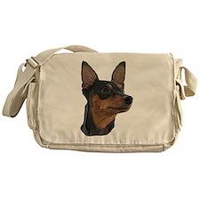 Miniature Pinscher Messenger Bag