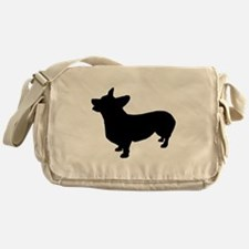 Corgi Shadow Messenger Bag