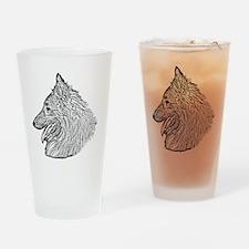 Belgian Tervuren Drinking Glass