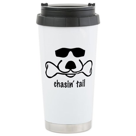 chasin' tail Stainless Steel Travel Mug