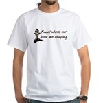 Kneel, Remember White T-shirt