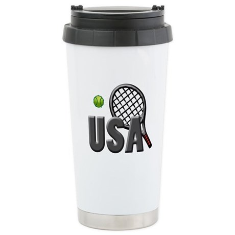 USA Tennis (2) Stainless Steel Travel Mug