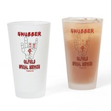 Snubber Drinking Glass,Oil,Gas,Oilman,Rig