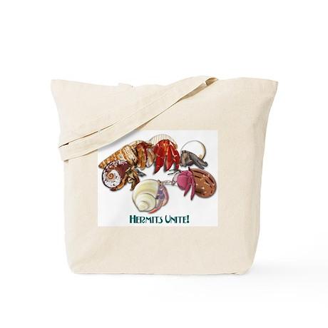 Hermits Unite Tote Bag