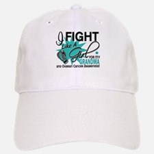 Fight Like a Girl For My Ovarian Cancer Baseball Baseball Cap
