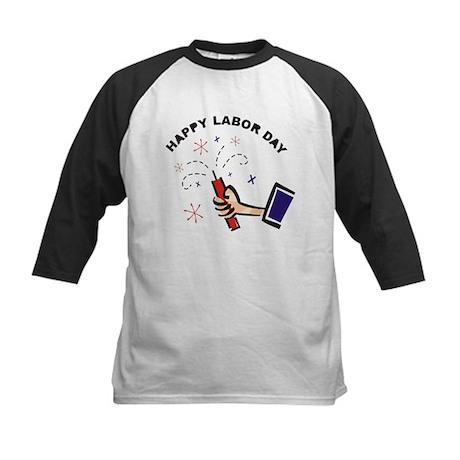 Labor Day Kids Baseball Jersey