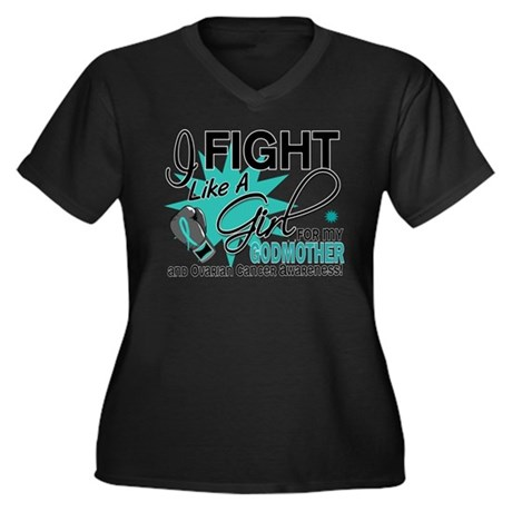 Fight Like a Girl For My Ovarian Cancer Women's Pl