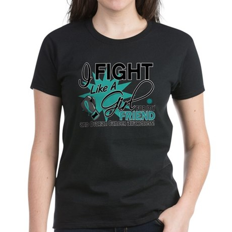Fight Like a Girl For My Ovarian Cancer Women's Da