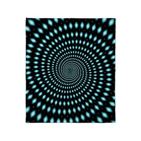 Wormhole Throw Blanket