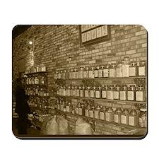 Spice Shop in Sepiatone Mousepad
