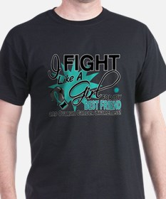 Fight Like a Girl For My Ovarian Cancer T-Shirt