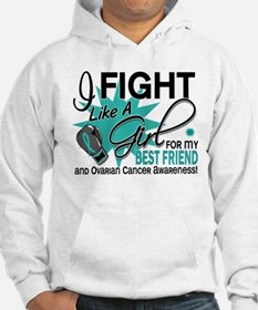 Fight Like a Girl For My Ovarian Cancer Jumper Hoody