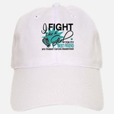 Fight Like a Girl For My Ovarian Cancer Baseball Baseball Cap
