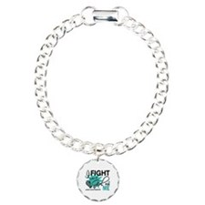 Fight Like a Girl For My Ovarian Cancer Bracelet