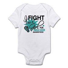 Fight Like a Girl For My Ovarian Cancer Infant Bod