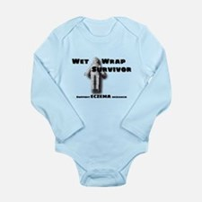 Eczema Mummy Long Sleeve Infant Bodysuit