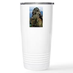 Bayon Stone Faces 3 Travel Mug