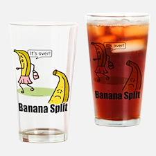 Banana split funny Drinking Glass