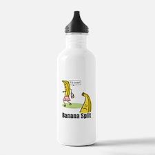 Banana split funny Water Bottle