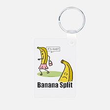 Banana split funny Keychains