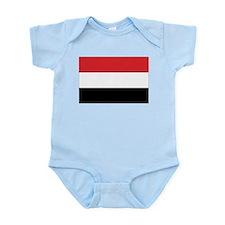 Yemen Flag Infant Creeper