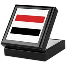 Yemen Flag Keepsake Box