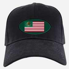 Mexican American Flag Baseball Hat
