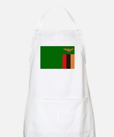 Flag of Zambia BBQ Apron