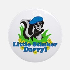 Little Stinker Darryl Ornament (Round)