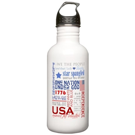 USA Stainless Water Bottle 1.0L