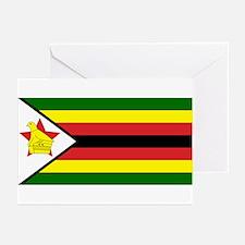 Flag of Zimbabwe Greeting Cards (Pk of 10)