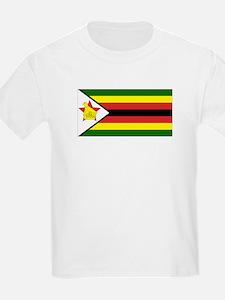 Flag of Zimbabwe Kids T-Shirt