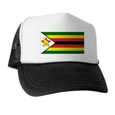 Flag of Zimbabwe Trucker Hat