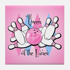 Queen of the Lanes Tile Coaster