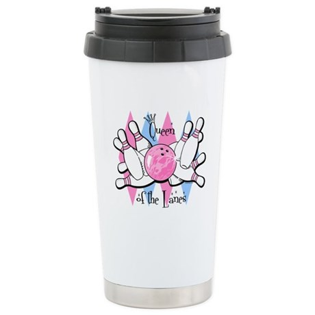 Queen of the Lanes Stainless Steel Travel Mug