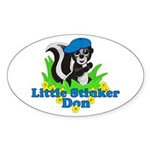 Little Stinker Don Sticker (Oval)